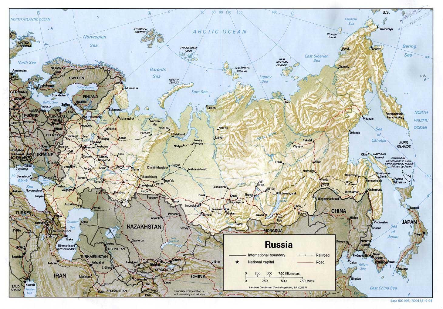 kaart us hoofdstad